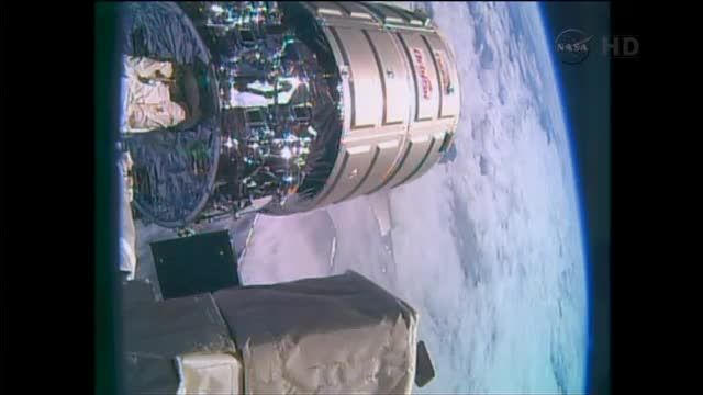 News video: Cygnus supply spacecraft departs International Space Station