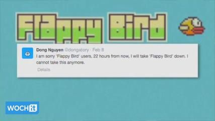 News video: Apple, Google Reportedly Grounding 'Flappy Bird' Clones