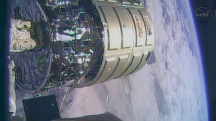 News video: Cygnus spacecraft leaves International Space Station